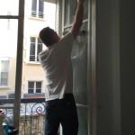 lavage vitrerie